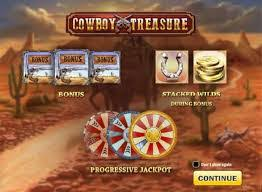 Cowboy Treasure Five Reel Slot Game