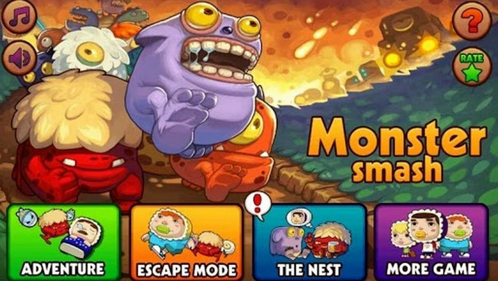 Monster Smash Online Video Slot Game