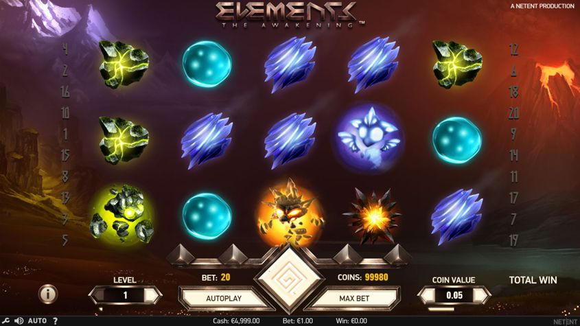 Elements: The Awakening is a Magical Slots Game
