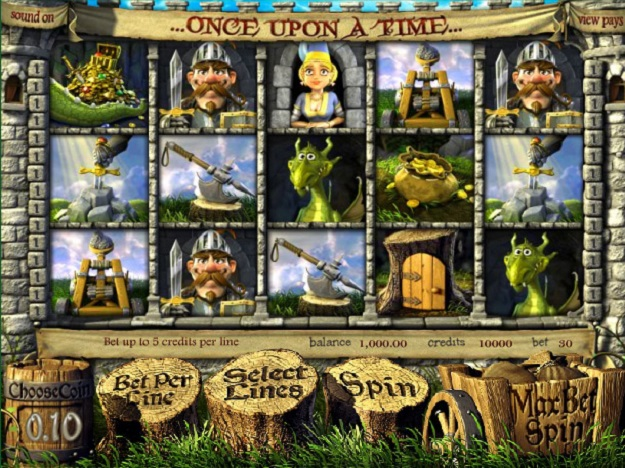 Once Upon a Time Online 3D Video Slot Introduced